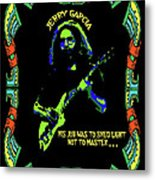 Jerry Shedding Light Metal Print