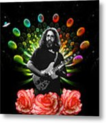 Jerry Spacepods Ufo Roses 1 Metal Print