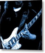 Jerry Stretches The Blues Metal Print