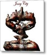 Jersey City  Metal Print