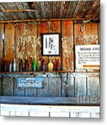Jersey Lilly Saloon Metal Print