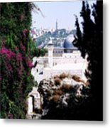 Jerusalem Beautiful Metal Print