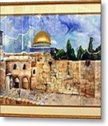 Jerusalem Cradle Of Civilization Metal Print