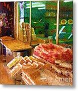 Jerusalem Marketplace Metal Print