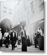 Old City Of Jerusalem Metal Print