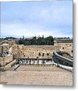 Jerusalem The Western Wall Metal Print