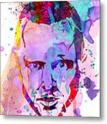 Jesse Breaking Bad Watercolor Metal Print