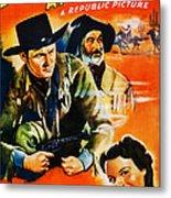 Jesse James At Bay, Us Poster, Roy Metal Print