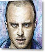 Jesse Pinkman - Breaking Bad Metal Print by Olga Shvartsur