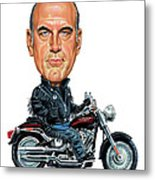 Jesse Ventura Metal Print by Art