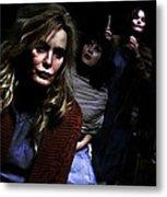 Jessica Lange as Sister Jude @ TV serie American Horror Story Asylum Metal Print