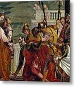 Jesus And The Centurion Metal Print