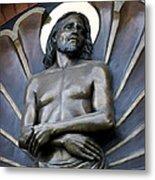 Jesus Cathedral Icon -  Spokane Washington Metal Print