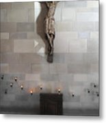 Jesus Chapel Icon - San Francisco Metal Print