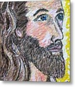 Jesus Christ Metal Print