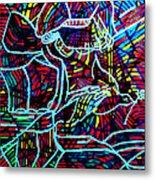 Jesus Christ - King Of Peace Metal Print by Gloria Ssali
