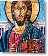 Jesus Christ The Pantocrator I Metal Print