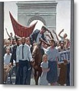 2. Jesus Enters The City / From The Passion Of Christ - A Gay Vision Metal Print by Douglas Blanchard