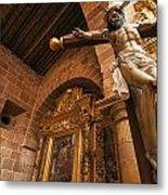 Jesus In Barichara Metal Print