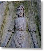 Jesus In Repose Metal Print