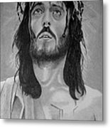 Jesus Of Nazareth Metal Print by Subhash Mathew