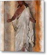 Jesus Photo Art Metal Print