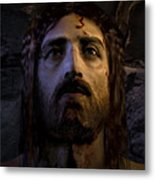 Jesus Resurrected Metal Print by Ray Downing
