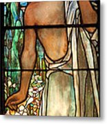 Jesus Stained Art - St Paul's Episcopal Church Selma Alabama Metal Print