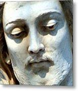 Jesus Statue Metal Print by David G Paul