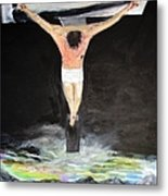 Jesus The Ultimate Sacrifice Metal Print