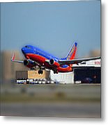 Jet Chicago Airplanes 17 Metal Print