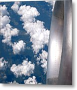 Forty Thousand Feet Metal Print