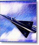 Jet Speed Metal Print