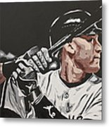 Jeter  Metal Print by Don Medina