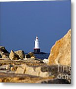 Jetty View Sakonnet Pt. Light II Metal Print
