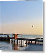Jetty.... Metal Print
