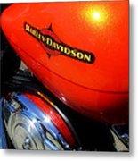 Jewel Of Bikes Motorcycles Metal Print
