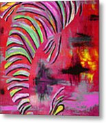 Jewel Of The Orient #3 Metal Print by Nan Bilden