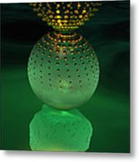 Jeweled Astrophytum  Metal Print