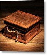 Jewellery Box Metal Print