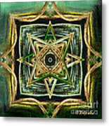 Jewellery Design - Abstract Art By Giada Rossi Metal Print