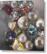 Jewels Artwork Of The Gods 2 Metal Print by Judy Paleologos