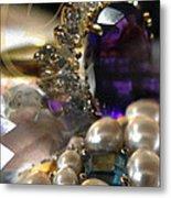 Jewels Artwork Of The Gods Metal Print by Judy Paleologos