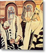 Jewish New Year 2 Metal Print