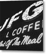 Jfg Sepia Metal Print