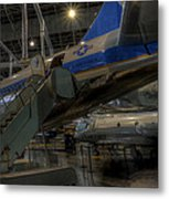 Jfk Air Force One Metal Print