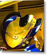 Jim Cipriano's Helmet Metal Print