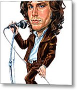 Jim Morrison Metal Print by Art