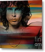 Jim Morrison The Doors Metal Print
