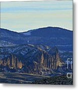 Jim Mountain Lava Field   #9037 Metal Print